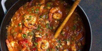 Making Gumbo For Christmas-Cooking Class