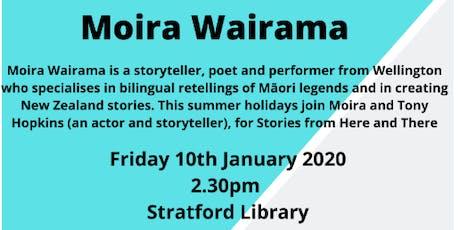 Story Teller - Moira Wairama tickets