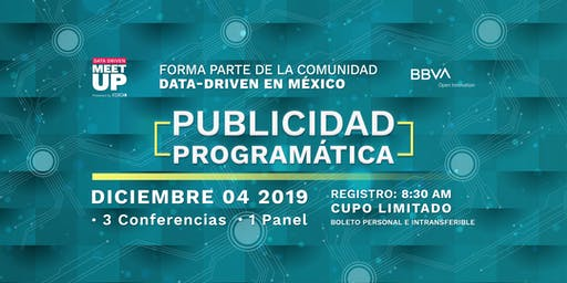 Data Driven Meet Up: Publicidad Programática