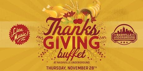Thanksgiving at Nashville Underground tickets