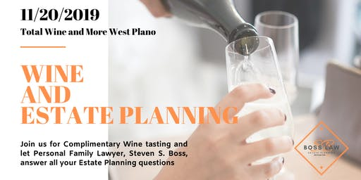 Wine and Estate Planning