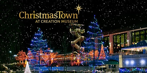 Roadtrip to Creation Museum for Christmas Town