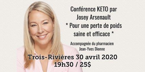 TROIS-RIVIÈRES - Conférence KETO - Pour une perte de poids saine et efficace! 25$