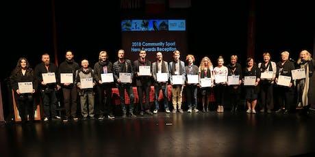 2020 Community Sport Hero Awards Reception tickets
