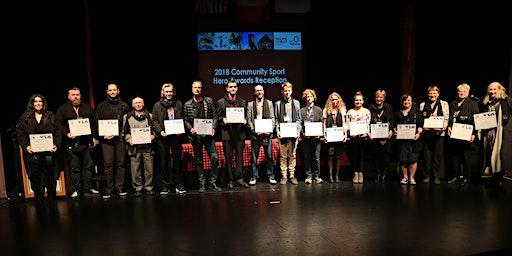 2020 Community Sport Hero Awards Reception