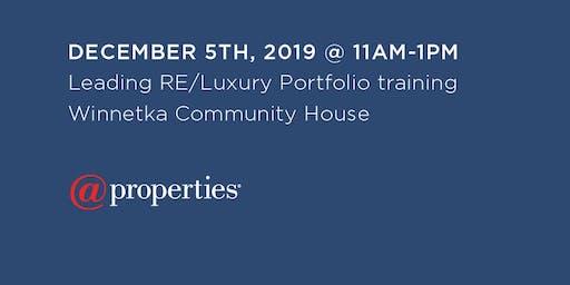 Leading RE/Luxury Portfolio Training