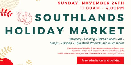 Southlands Holiday Market tickets