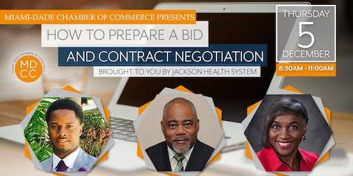 MDCC | How to Prepare a Bid & Contract Negotiations