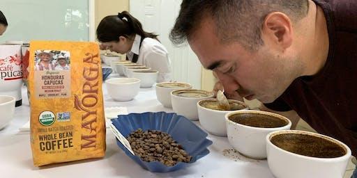 Mayorga Organics Coffee Cupping