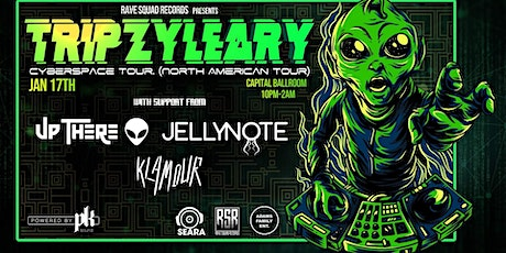TRIPZY LEARY CYBERSPACE TOUR tickets