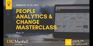 People Analytics and Change Masterclass, February 2020