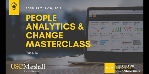People Analytics and Change Masterclass, February 2020