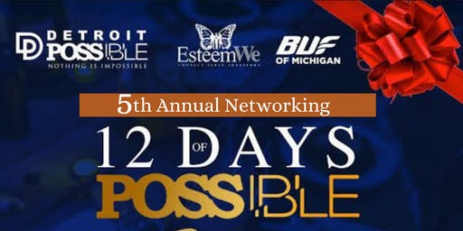 5th Annual 12  Days of Possible Fundraiser & Networking Soiree