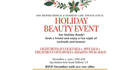 Holiday Beauty Event tickets