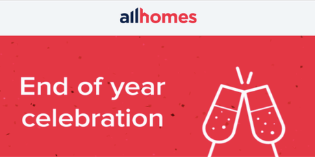 Allhomes End of Year Celebrations 2019 tickets