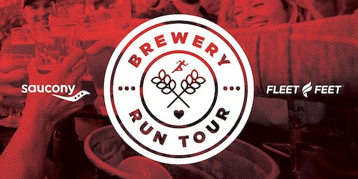 Saucony run for good Brewery Run Tour:  Alulu Brewery