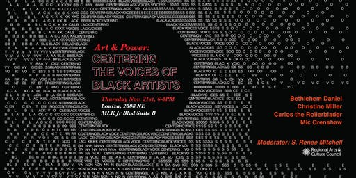 Art & Power: Centering the Voices of Black Artists