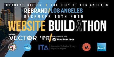 Rebrand Los Angeles: Small Business Website Build-a-thon tickets