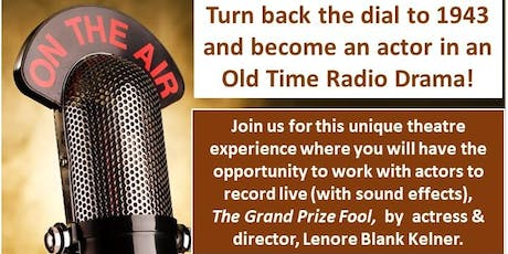 FREE radio drama show for families at Olney Theatre! tickets