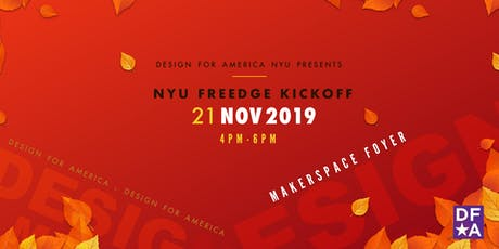 NYU Freedge Kick Off tickets