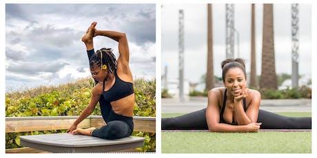 Trap Yoga W/  @chechebabe & @inspired_yogi21  (Ebony Fit Weekend) tickets