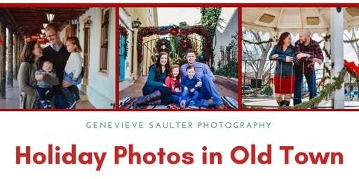 Holiday Photos in Old Town