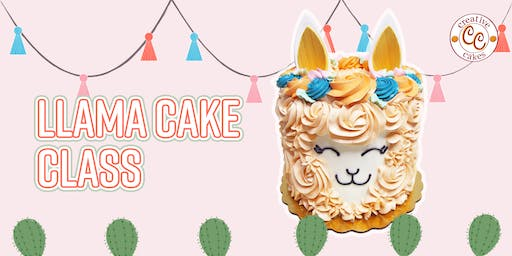 Llama Cake Class: Parent & Child