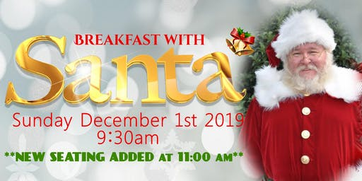 Breakfast with Santa hosted by The Club at Venetian Bay