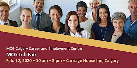 MCG Job Fair tickets