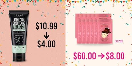 K-Beauty Pre-Thanksgiving Sale tickets