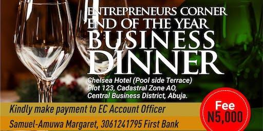 Entheos Entreprenuer Business Dinner