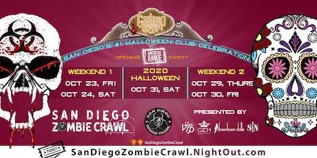 2020 Halloween: San Diego Zombie Crawl tickets