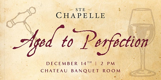 Aged to Perfection - a VIP Wine & Cheese Event