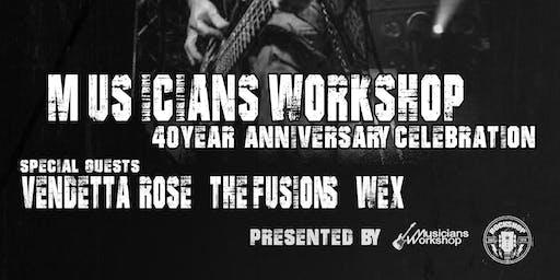 Musicians Workshop 40th Anniversary Celebration W/JD of Black Label Society