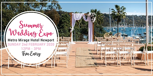 Summer 2020 Wedding Expo : Free event!