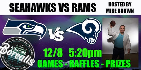 SEAHAWKS v RAMS hosted by Mike Brown tickets