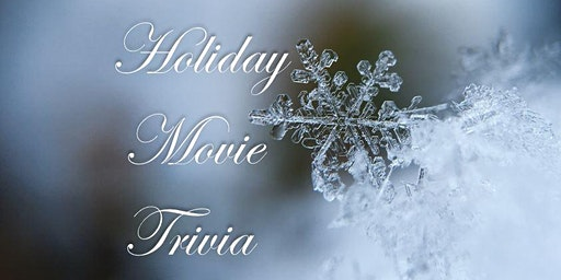 Holiday Movie Trivia Night