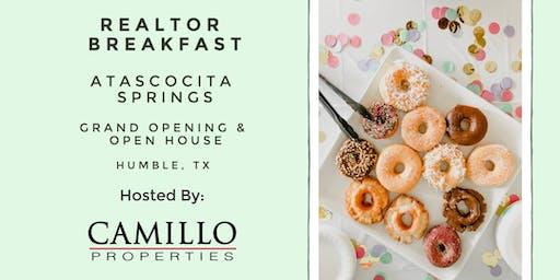 Grand Opening - Atascocita Springs - Realtor Breakfast