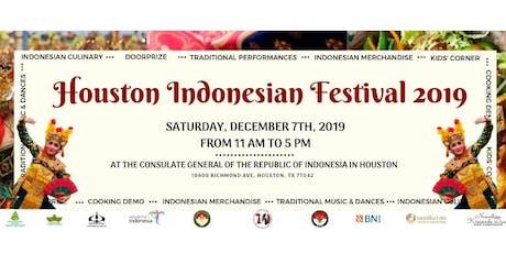 Houston Indonesian Festival 2019 tickets