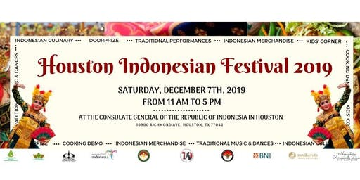 Houston Indonesian Festival 2019