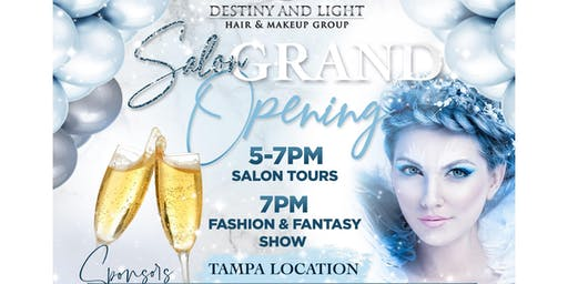 Destiny and light Salon  Grand Opening
