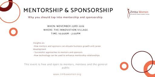 Mentorship and Sponsorship