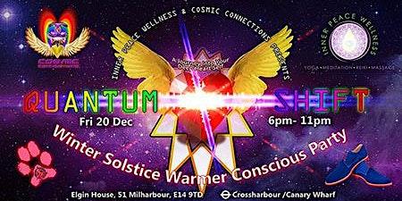 Quantum Shift Winter Solstice Conscious Party