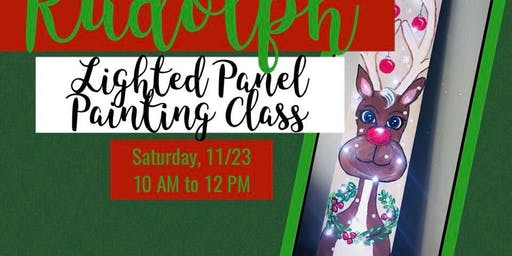 Rudolph Wood Panel Painting Class