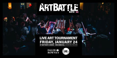 Art Battle Bath - 24 January, 2020 tickets