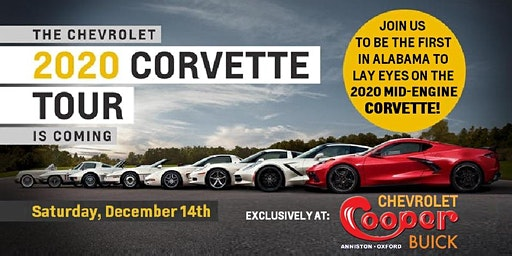 The 2020 Chevrolet Corvette Tour of Alabama