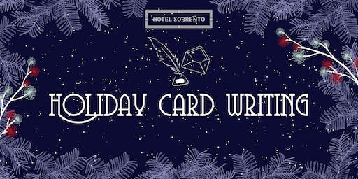 Holiday Card Writing Happy Hour