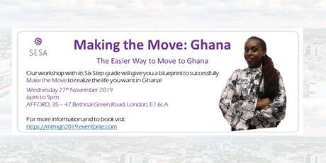 Making the Move: Ghana Workshop - Move the Right Way tickets