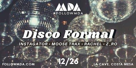 MDA 3rd Annual Disco Formal tickets