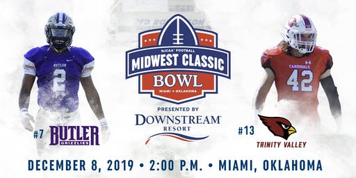 Midwest Classic Bowl - Butler CC vs. Trinity Valley